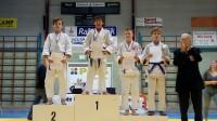4 judoka's naar BK -15 jaar