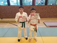 1000 judopunten voor broertjes De Leeuw