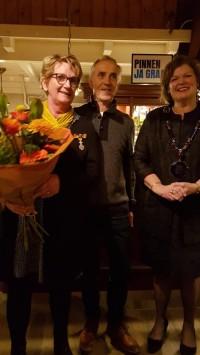 Koninklijke onderscheiding voor penningmeester Ria Wolfs