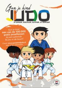 Win één van de 100.000 judolessen